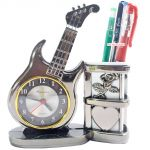 Fashionable Table Wall Desk Clock Watches With Alarm & Pen Holder -101