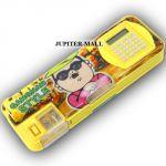 Kids Multi Purpose Pencil Pen Case Storage Box Holder Sharpener Pouch -104