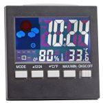 Digital Alarm Calendar Thermometer Table Desk Clock - 266