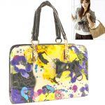 Leather Bag Womens Ladies Girls Side Hand Bags Handbag Purse - 61