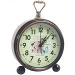 Exclusive Fashionable Table Wall Desk Clock Watches With Alarm - 77