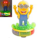 Funny Minion With Light Sound Battery Operated Toy Toys Kids Gift - N50