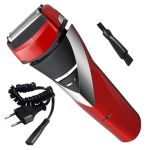 Kemei Rechargeable Cordless Double Bladed Hair Shaver With Trimmer Clipper For Men (code - 118)