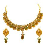 Surat Diamond Simply Dramatic - Necklace & Earring Set Ps235