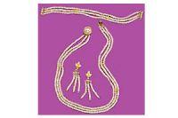 Surat Diamond Pearl Entrancement Necklace Sp87
