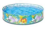 Kids Swimming Pool Inflatable 4 Inch X 10 Inch Bath Tub