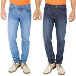 Stylox Set Of 2 Denim Jeans For Men