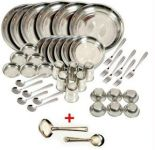 Deluxe Quality Stainless Steel 50 PCs Dinner Set