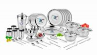 Airan Platinum Stainless Steel 57-piece Dinner Set-(product Code-air1023)
