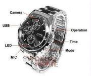 Spy Wrist Watch With HD Camera -dvr 4GB
