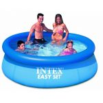 Skunk Online Intex 8 Feet Inflatable Above Ground Family Kids Swimming Pool