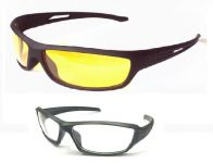 Buy 1 Night Driving Glare Free Sunglass & Get1 Sunglass With Clearlens Free