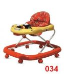 Baby Walker With Music Andadjustable Height Walker