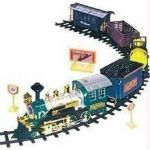 580cm Track- 23pcs Replica Train Set Battery Operated For Kids