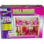 Baby Doll House For Children Kid Creative Learning