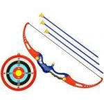 Children Kids Bow Arrow Archery Toxophily Set Crossbow Target Game