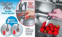 As Seen On TV Stainless-steel Turbo Flex 360 Degree Rotatory Flexible Sink