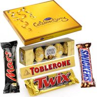 Beautiful Chocolate Hamper For Sister- Rakhi Gifts