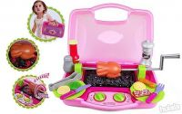 Kid's Kitchen Set - Rotating Barbeque