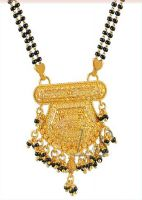 Ethnic Heavy Gold Forming Mangalsutra