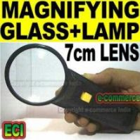 7cm Lens Magnifying Glass With Target Spot Light