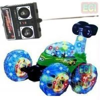 RC Remote Operated Jumbo Flash wheel Toy Stunt Car