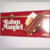 Gift Set Of 2 Premium Rahm Mandel Chocolate Bars