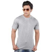 Clifton Mustee Grey Melange Tshirt for Men