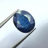 Top 5.15 Ct Certified Natural Blue Sapphire/neelam