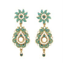 Vendee Fashion Sky Blue Alloy Earring 4848