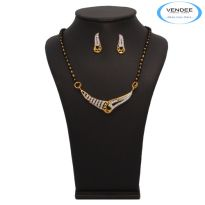 Vendee Fashion Fabulous Mangalsutra Pendant Set 7224