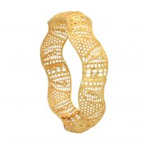 Vendee Fashion 1 Gm Gold Plated Bangle 7246