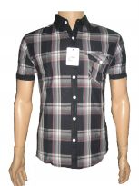 Nick&jess Mens Casual Half Sleeve Shirts