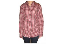 Nick&jess Ladies Casual Red Checkered Shirt