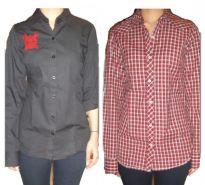 Nick & Jess Set Of 2 Casual & Formal Womens Shirts (GSFS018)