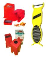 A POTATO CUTTER FOR FRENCH FRIES WITH  4 IN 1 MULTIPURPOSE KITCHEN TOOL