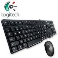 LOGITECH MM KEYBOARD + OPTICAL USB MOUSE MK200