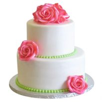 Two Tier Wedding Cake - All Time Favorites