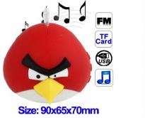 Angry Birds Mini Speaker For Laptop IPod Iphone+fm