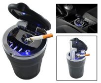 Cigarette Ashtray With LED Light For Car/Home