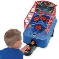 Electronic Scoring Super Shoot Out Tabletop Basketball Game Toy For Kids