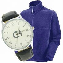 Winter Fleece Jacket with color choice & Watch