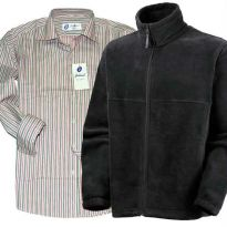 Winter Combo - Fleece Jacket with Stripe Shirt