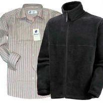 Winter Combo - Fleece Jacket With Stripe Shirt