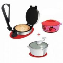 Triple combo Electric Roti Maker   Atta Maker   Hotpot