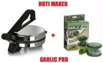 Combo Offer Jaipan Roti Maker+Garlic Pro