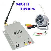 NPC HIGH QUALITY WIRLESS  WIRED CCTV CAMERA,WATERPROOF DESIGN