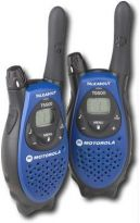 Motorola T-5500 Walkie Talkie 8 Miles , 22 CHANNEL