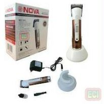 Nova 1015 Rechargable Hair & Beard Trimmer Clipper
