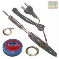 10W Soldering Iron Kit, Solder Wire, Paste, D Wick